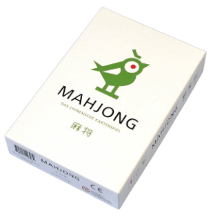 Schachtel Vorderseite- Mahjong - Das chinesische Kartenspiel