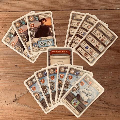 Spielkarten- Maracaibo - La Armada