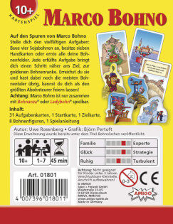 Schachtel Rückseite- Marco Bohno