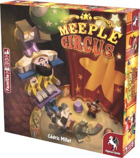 Schachtel Vorderseite- Meeple Circus
