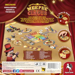 Schachtel Rückseite- Meeple Circus
