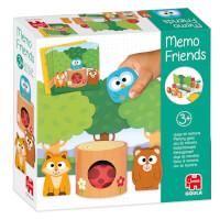 Schachtel Vorderseite - empfohlen zum Kinderspiel des Jahres 2021 - Memo Friends