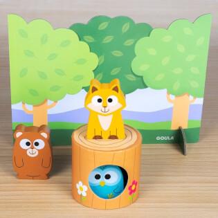 Spielmaterial- empfohlen zum Kinderspiel des Jahres 2021- Memo Friends