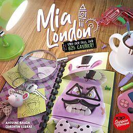 Schachtel Vorderseite - nominiert zum Kinderspiel 2021- Mia London