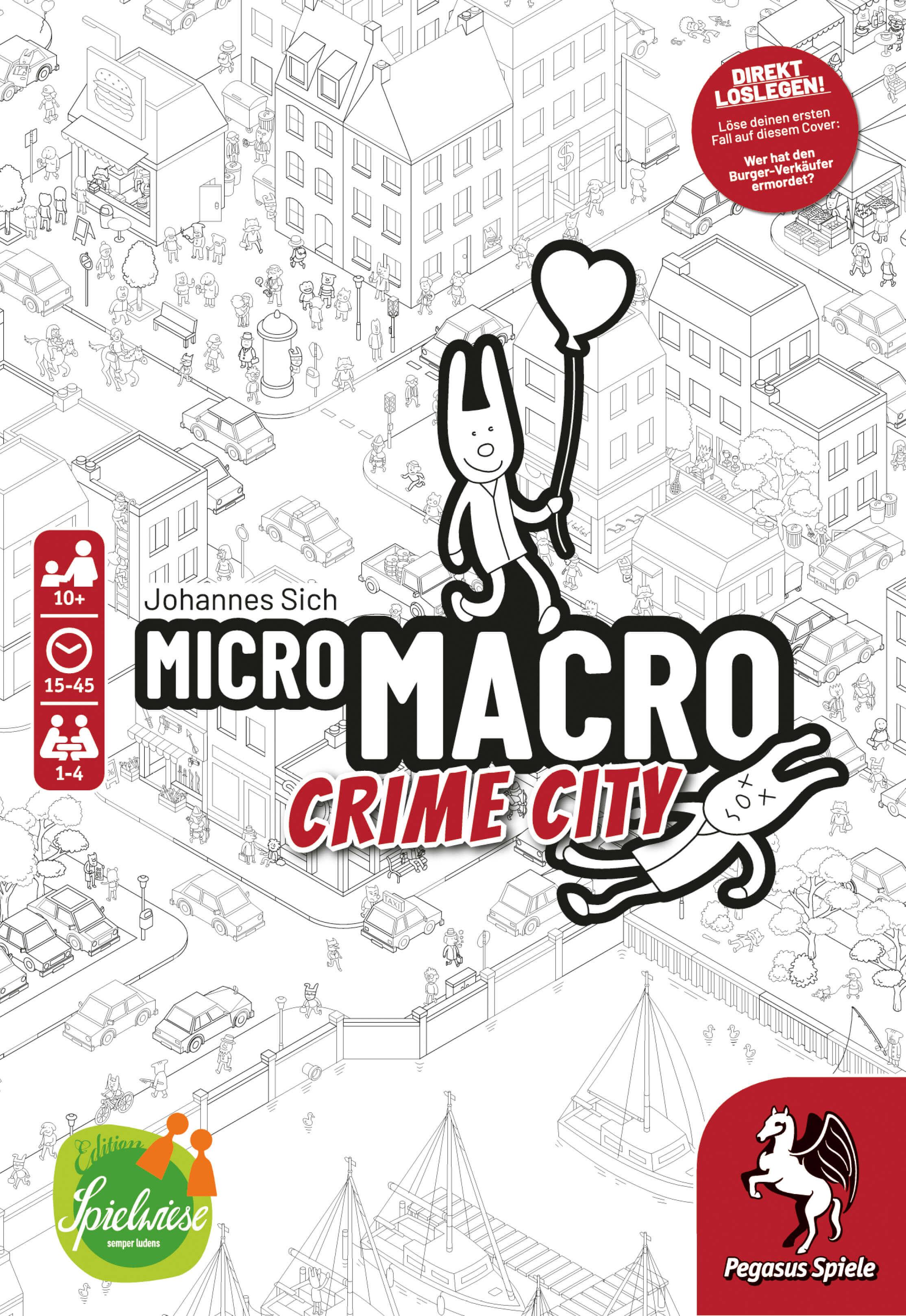 Schachtel Vorderseite- MicroMacro: Crime City