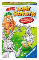 Schachtel Vorderseite - Lotti Karotti - Das Merk- und Reaktionsspiel