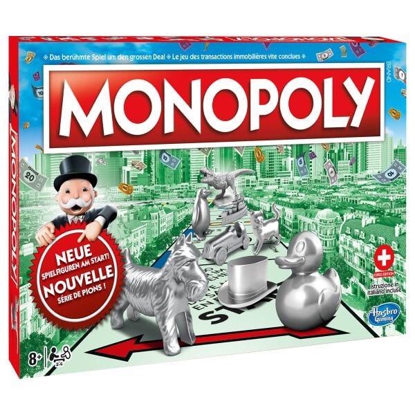 Schachtel Vorderseite- Monopoly Edizione Svizzera