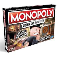 Schachtel Vorderseite - Monopoly - Mogeln und Mauscheln