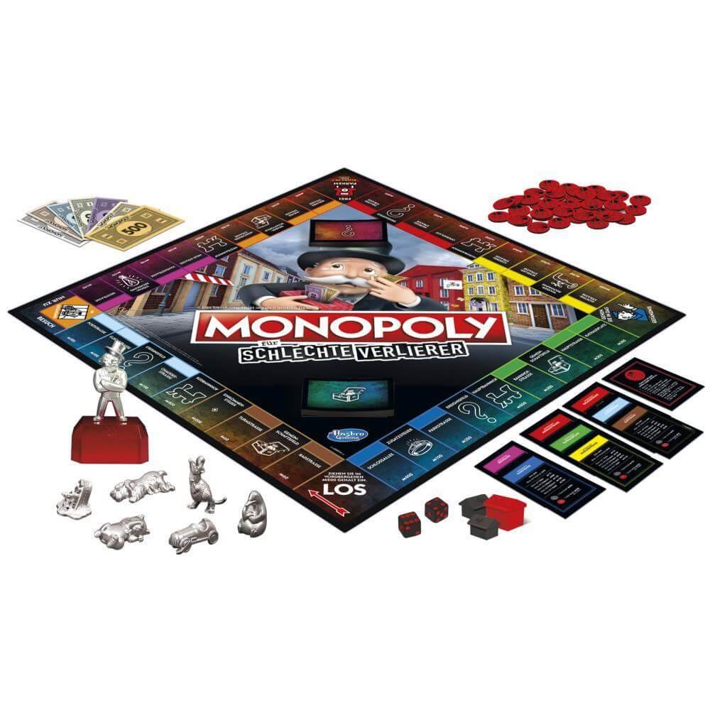 Spielmaterial- Monopoli per i cattivi perdenti