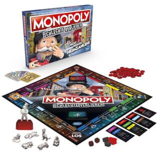 Spielmaterial - Schachtel Vorderseite- Un monopole pour les mauvais perdants