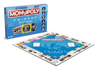 Spielschachtel - Spielplan- Monopoly - Friends