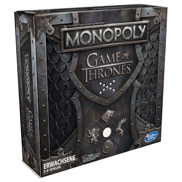Schachtel Vorderseite- Monopoly - Game of Thrones