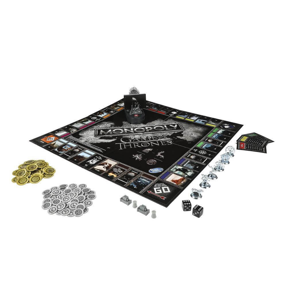 Spielplan- Monopoly - Game of Thrones
