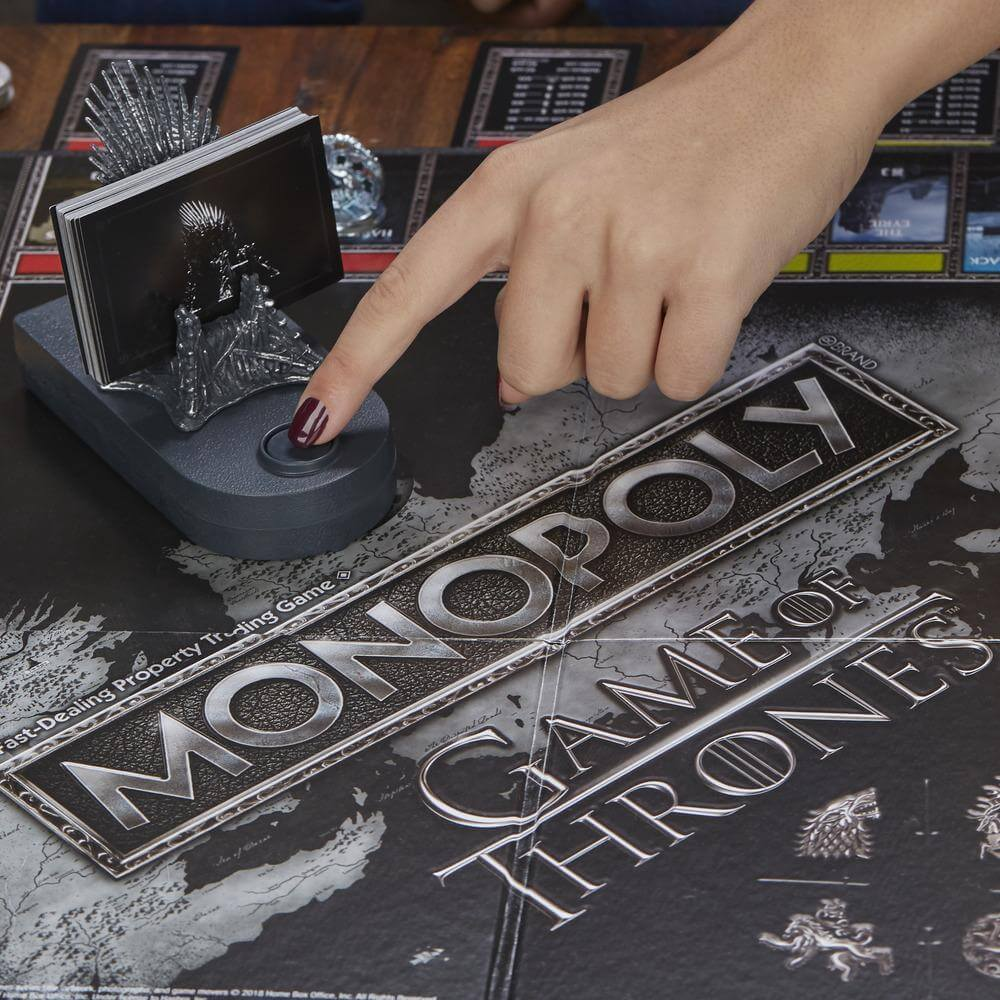 Spielplan - Musikgerät- Monopoly - Game of Thrones