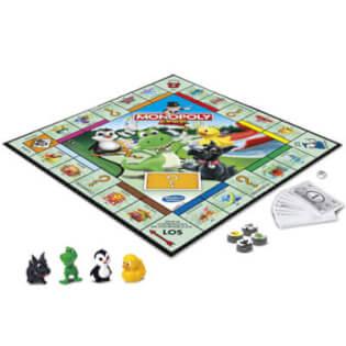 Spielmaterial- Monopoly Junior