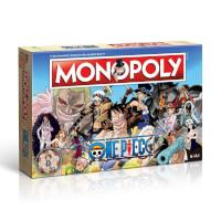 Schahctel Vorderseite, linke Seite - Monopoly - One Piece