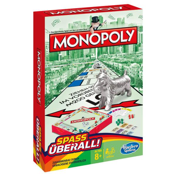 Schachtel Vorderseite- Monopoly Kompakt