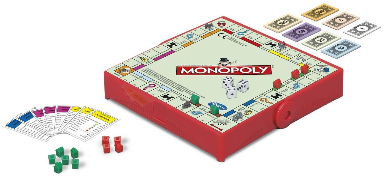 Spielmaterial- Monopoly Kompakt