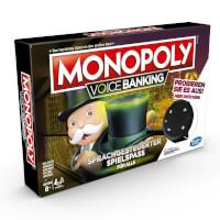 Schachtel Vorderseite links - Monopoly - Voice Banking