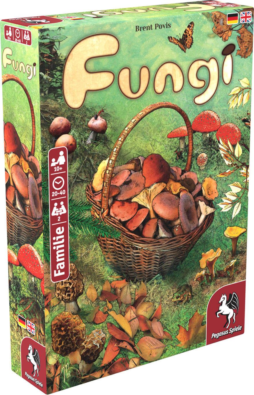 Schachtel Vorderseite- Fungi