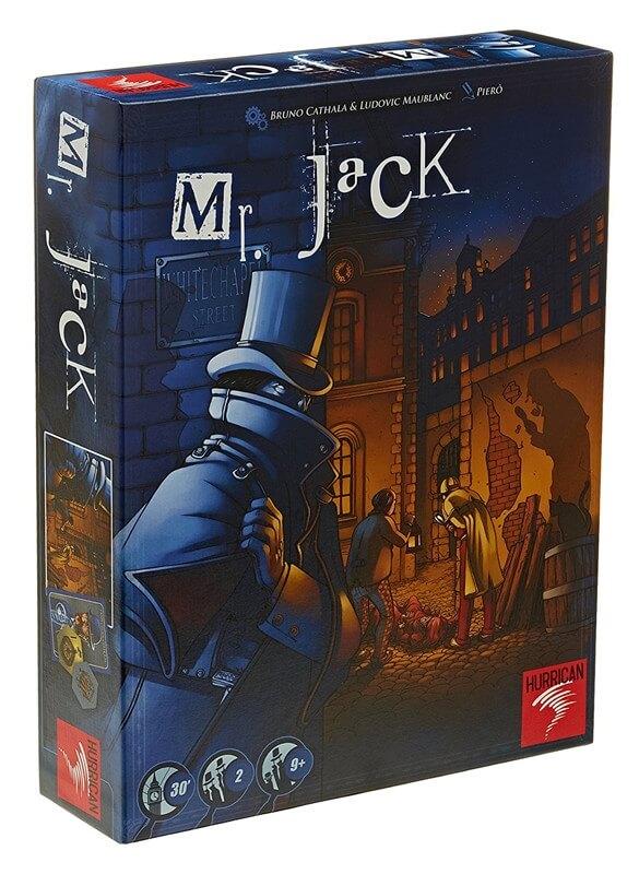 Schachtel Vorderseite- Mr. Jack - London
