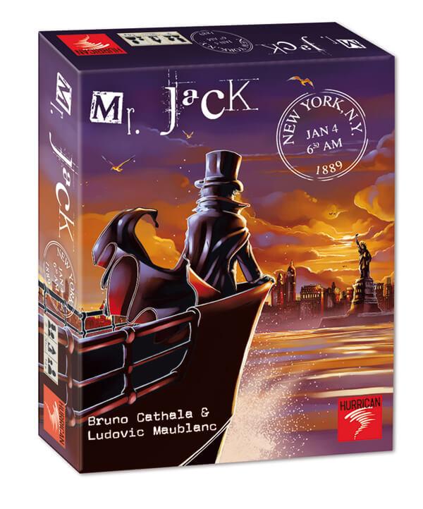 Schachtel Vorderseite- Mr. Jack - New York