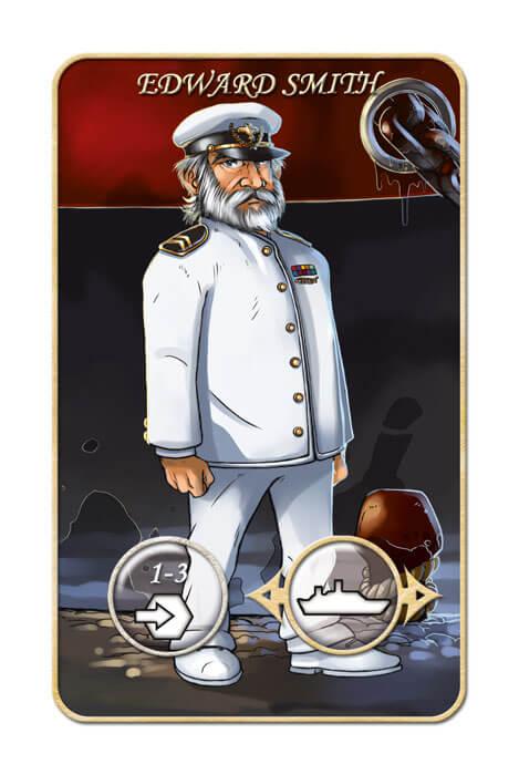Spielkarte Edward Smith- Mr. Jack - New York