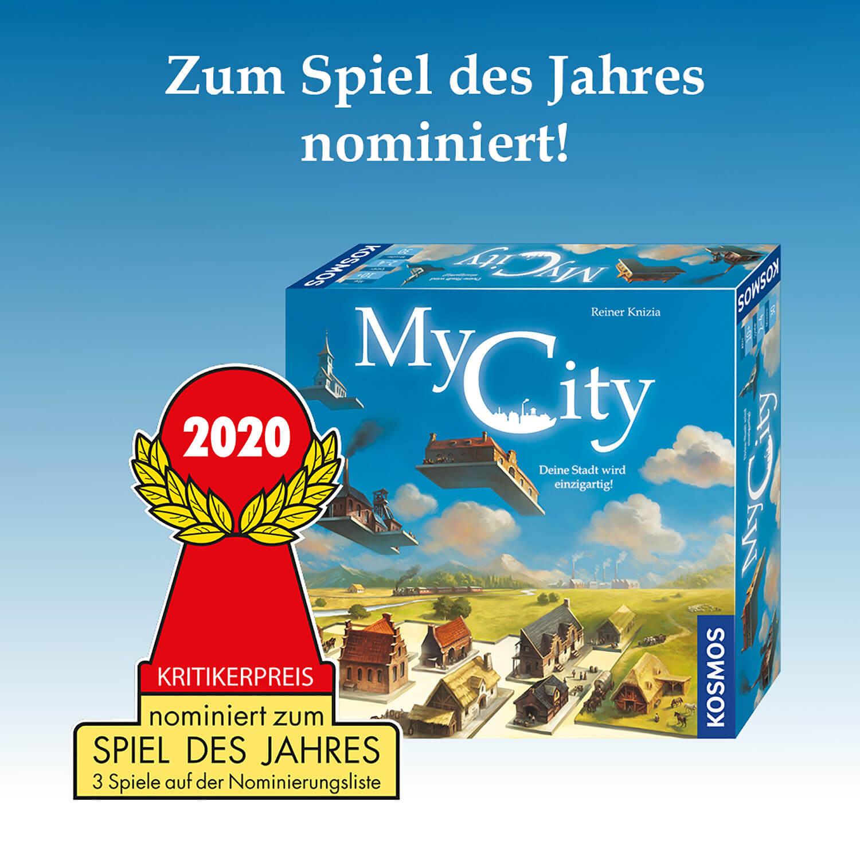 Zum Spiel des Jahres 2020 nominiert!- My City