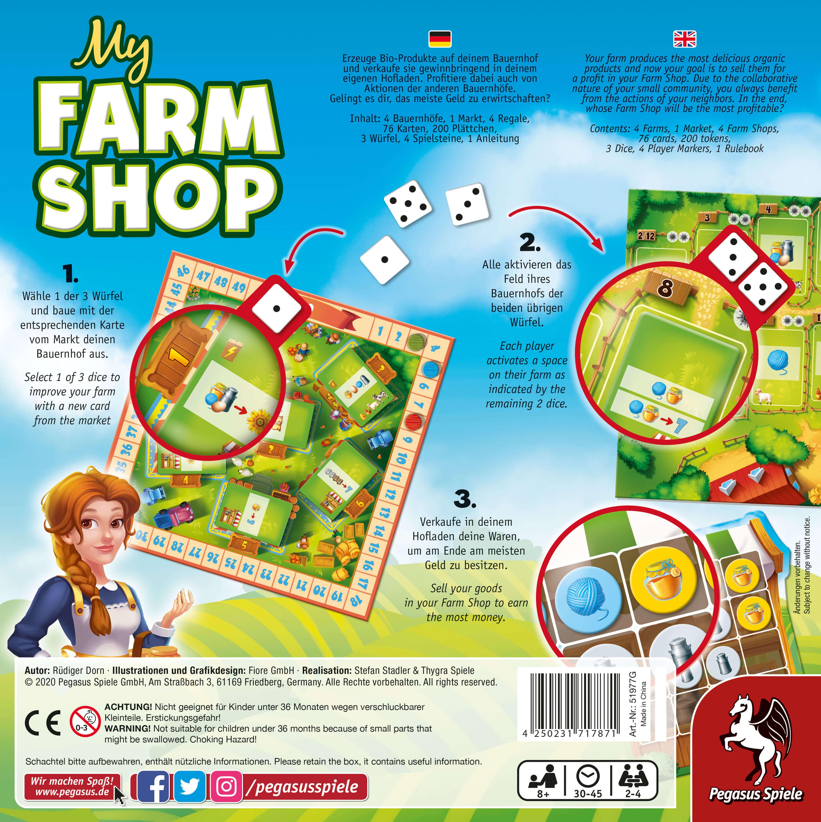 Schachtel Rückseite- My Farm Shop