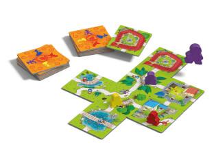 Spielmaterial- Carcassonne Junior
