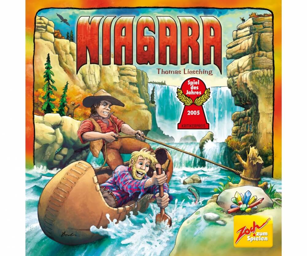 Cover - Spiel des Jahres 2005- Niagara