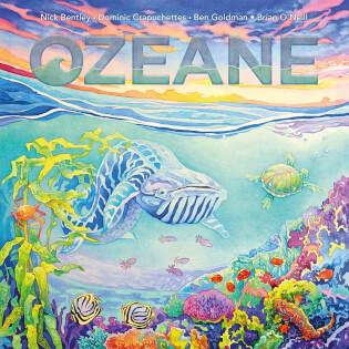 Schachtel Vorderseite- Ozeane