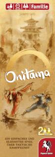 Schachtel Vorderseite- Onitama