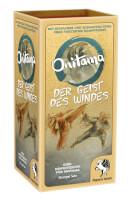 Schachtel Vorderseite, linke Seite - Onitama: Der Geist des Windes