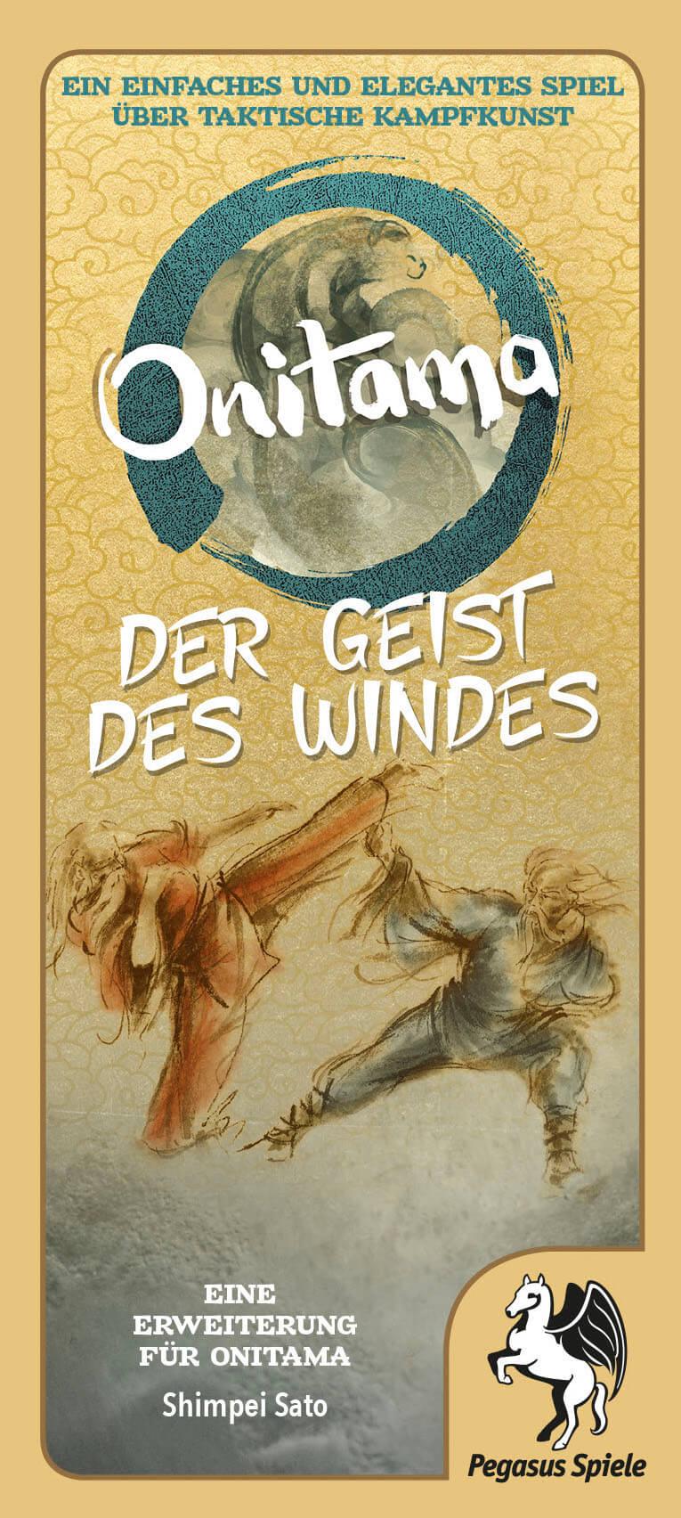 Schachtel Vorderseite- Onitama: Der Geist des Windes