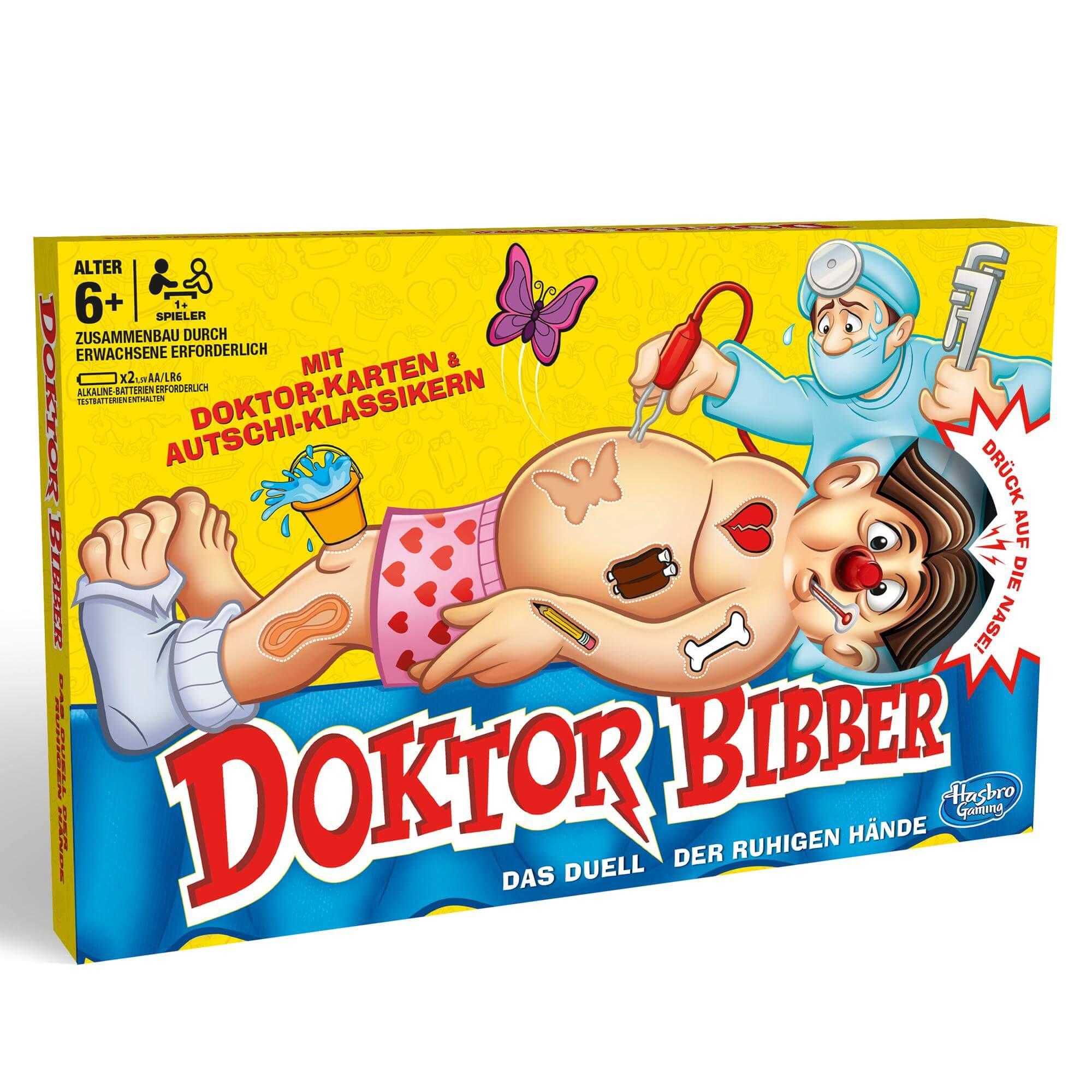 Schachtel Vorderseite- Doktor Bibber