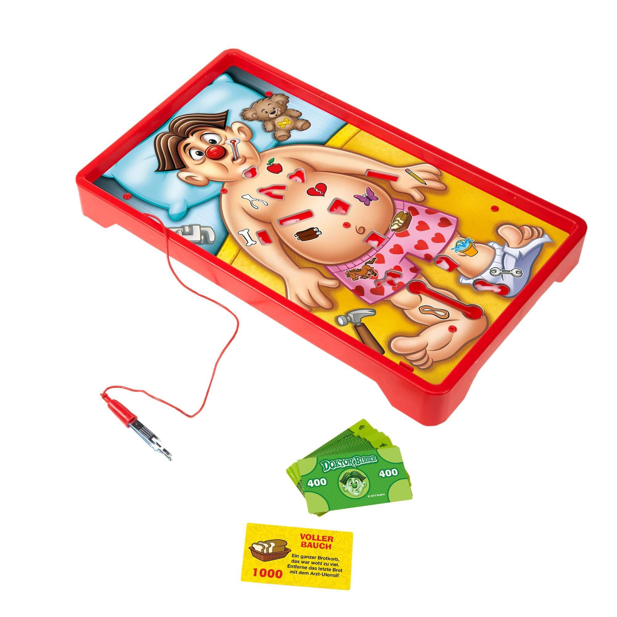 Spielmaterial- Doktor Bibber