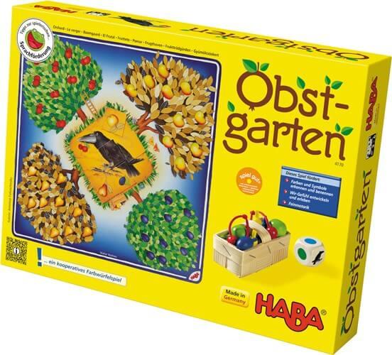Schachtel Vorderseite- Obstgarten