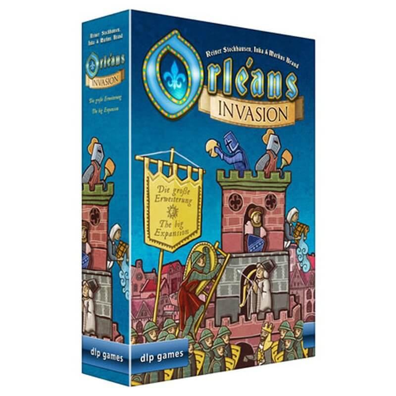 Schachtel Vorderseite, linke Seite- Orléans Invasion