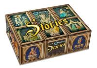 Schachtel Vorderseite, linke Seite - Orléans Stories