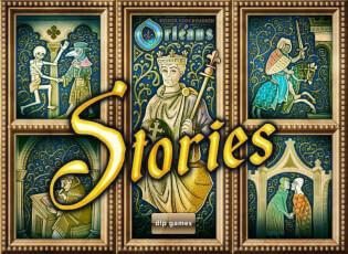 Schachtel Vorderseite- Orléans Stories