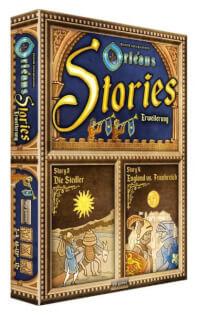 Schachtel Vorderseite- Orléans Stories - Erweiterung 3 & 4