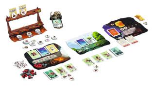 Spielmaterial - Tableau und Tokens- Paleo