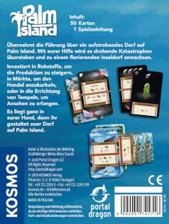Schachtel Rückseite- Palm Island
