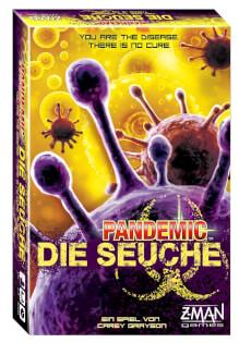 Schachtel Vorderseite- Pandemie - Die Seuche