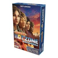 Schachtel Vorderseite - Pandemic: Hot Zone - Nordamerika