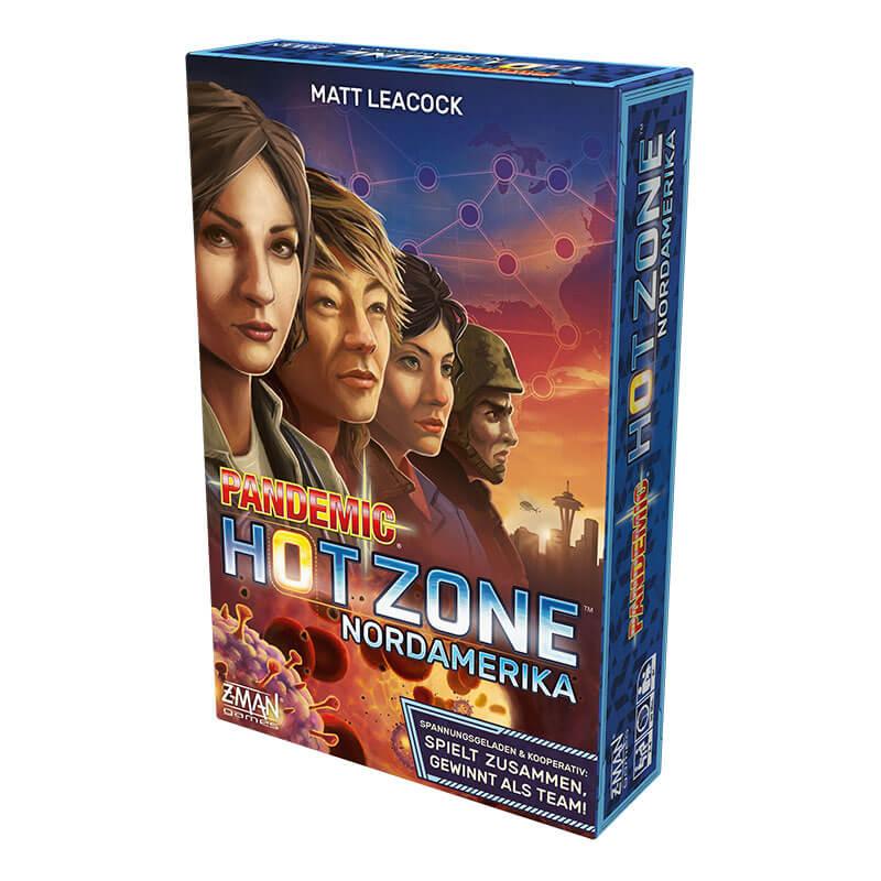 Schachtel Vorderseite- Pandemic: Hot Zone - Nordamerika