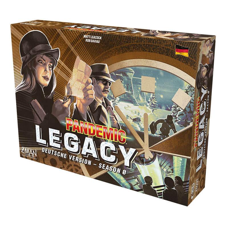 Schachtel Vorderseite- Pandemic Legacy: Season 0