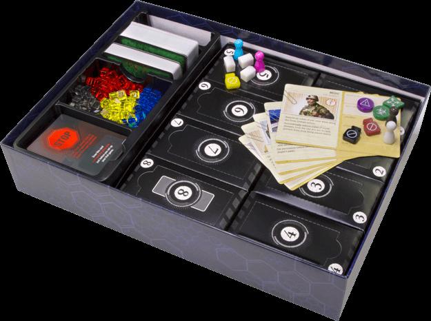Schönes Spielmaterial mit 8 geheimen Paketen - nominiert zum Kennerspiel des Jahres 2016- Pandemic Legacy - Season 1