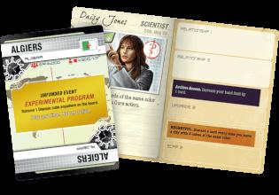 Charakterkarte - nominiert zum Kennerspiel des Jahres 2016- Pandemic Legacy - Season 1